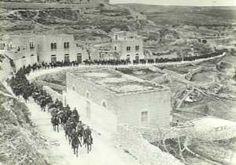 Light Horse brigade in Jerusalem 1917