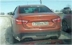 На дорогах Тольятти замечен новый седан LADA Vesta Cross