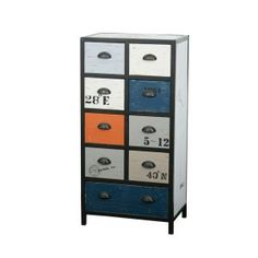 Colores 110cm Chest of Drawers