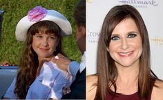 "Here is Kellie Martin (Christy) in a then and now feature celebrating the anniversary of the movie ""Troop Beverly Hills"". Kellie Martin, Troop Beverly Hills, Catherine Marshall, Stars Then And Now, Two Decades, 25th Anniversary, Tv Series, Writer, Tv Shows"