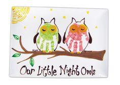 my little hoot owls handprints