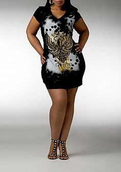 House of dereon plus size dresses