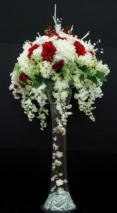 Fantastic Ideas For Red Floral Arrangement (68)