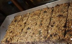 Healthy Bars, Healthy Sweets, Healthy Salads, Healthy Recipes, Healthy Food, Oat Bars, Healthy Choices, Sweet Recipes, Banana Bread