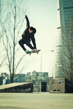 nice air time #skate