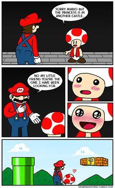 Sorry #Mario… #comic