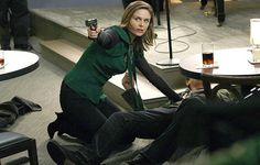 Bones killing Fat Pam after she had shot Booth, s13e15. DID BONES SHOOT BOOTH AND SOME ONE ELSE?