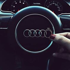 Five rings, yes please Photo Birthday Surprise For Girlfriend, Audi Cars, Audi Audi, Night Driving, Fancy Cars, Future Car, Car Photos, Amazing Cars, Love And Marriage