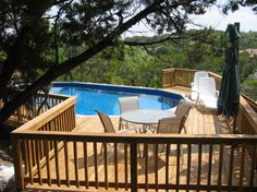 above ground pool decks round deck around above ground pool with oval liners pools 77 best decks images on pinterest in ground pools swiming