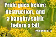 Prov. 16:18