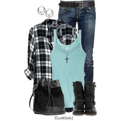 A fashion look from October 2014 featuring Rails tops, Roÿ Roger's jeans and Frye ankle booties. Browse and shop related looks.
