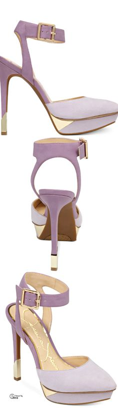 Jessica Simpson ● Ankle Strap Platform Pumps | The Colors Are Soft & Pretty, Looks Great With Pink!