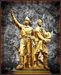 Volunteer Fire Department Statue: San Francisco by Loco Steve, via Flickr