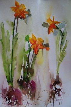 Olivia Quintin watercolors
