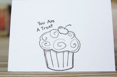 Greeting cards Handmade Cards hand drawn by ColettesLemonTree, $15.00