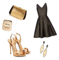 """Untitled #17"" by soukupova-t on Polyvore featuring Giuseppe Zanotti, Wallis, Nina Ricci and Gucci"