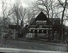 Frank Lloyd Wright Home and Studio. Oak Park, Illinois. 1889