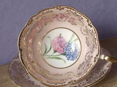 Vintage 1960's English bone china tea cup Paragon by ShoponSherman