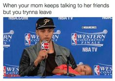 I love Riley Curry's memes. #stephcurry