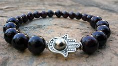 Hey, I found this really awesome Etsy listing at https://www.etsy.com/listing/200298182/free-shipping-garnet-gemstone-with-hamsa