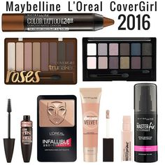 Maybelline, L'Oreal, and CoverGirl 2016 Products Now Available Online (Select Items on Sale)