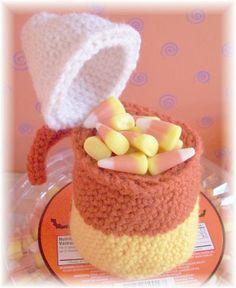 Candy Corn Treat Pouch....Free pattern