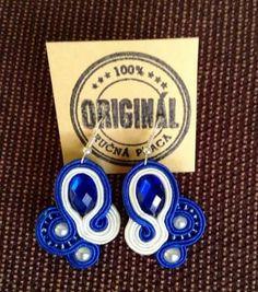Handmade ZuzDesign soutache earings Washer Necklace, Jewelery, The Originals, Earrings, Handmade, Jewlery, Ear Rings, Jewels, Stud Earrings
