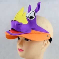 EVA Foam Cartoon Animals Masks hat cap 055