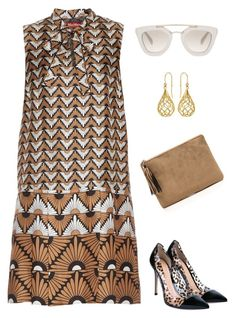 Untitled #2993 by elia72 on Polyvore featuring polyvore, fashion, style, MaxMara, Gianvito Rossi, Elements, Prada and clothing #elia72