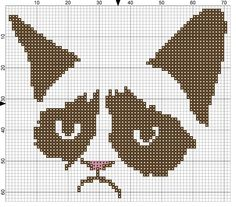Grumpy cat > Must try embroidery again because this is just too epic!