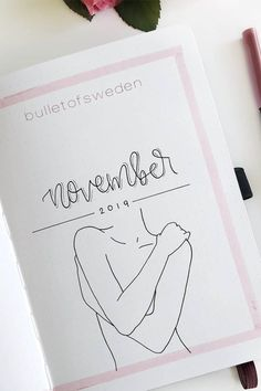 creative bullet journal monthly cover ideas for November Bullet Journal School, Bullet Journal Inspo, Bullet Journal Front Page, Bullet Journal Paper, Bullet Journal Minimalist, Bullet Journal Cover Ideas, Bullet Journal Lettering Ideas, Bullet Journal Notebook, Bullet Journal Aesthetic
