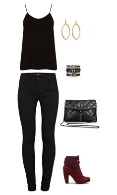 """Untitled #662"" by netteskytte on Polyvore featuring Oasis, Niin, J Brand, Samantha Wills, women's clothing, women's fashion, women, female, woman and misses"
