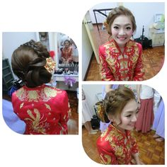 Rainnemakeup world rainneyap bridal makeup and hairdo chinesestyle 2016