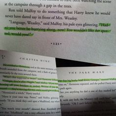 In which I am more convinced that DraMione was real in the Potter-verse. It's real love right there, guys.
