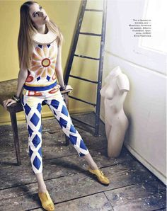gwen loos by thomas nutzl for elle russia march 2013 | visual optimism; fashion editorials, shows, campaigns & more!