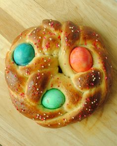 Next stop: Garlic Girl's Italian Easter Bread
