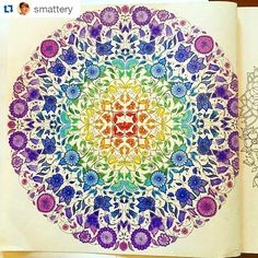 Rainbow inspired coloring page