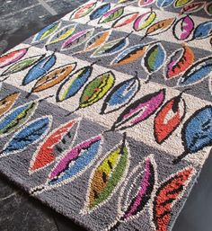 print & pattern blogs the HABITAT PRESS SHOW AW14 Sarah Campbell (Collier & Campbell) Rug