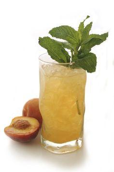 Ginger Peach Soda.