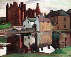 Kirkcudbright Castle, Reflectionsby Samuel John Peploe