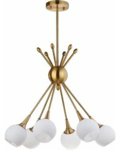Winter Shopping Deals on Safavieh Lighting Justine 6 Light 22-Inch Dia Adjustable Pendant (PND4002A), White (Metal)
