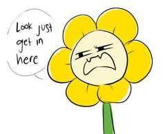 Just a bunch of comics about Undertale.I do not own this comics. Undertale Flowey, Undertale Memes, Undertale Comic, Dark Flower, Flowey The Flower, Undertale Pictures, Cheer Up, Fan Art, Comics