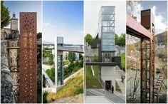 Galeria de Elevadores urbanos: integração e continuidade em cidades com relevos acidentados - 1