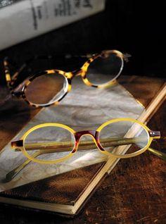 amber/tortoise frames