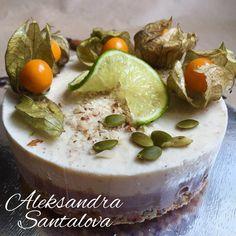 RAW lime CAKE #cake #raw #vegan #tort #natural