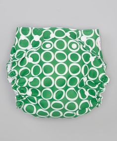 Take a look at this Amazon Forest Pocket Diaper by Smitten Baby on #zulily today!