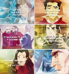 The Legend of Korra...sad quotes of people who will never give up hope (or at least not yet anyway)