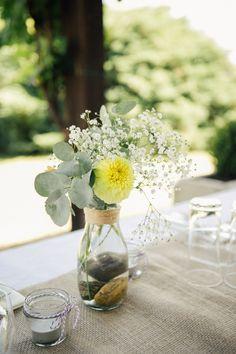 DIY Gartenhochzeit auf dem Weingut von Kalinka Photographie | Hochzeitsblog - The Little Wedding Corner