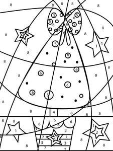 Coloriage Magique Grand Sapin De Noel Coloriage Magique Noel Coloriage Magique Coloriage Noel