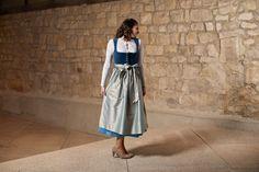 Heimat Lederhosen, Midi Skirt, Folk, Skirts, Pants, Dresses, Fashion, Dirndl, Breien